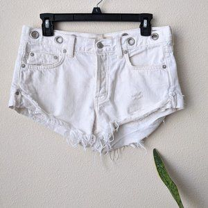 We the free jeans Cut off  distressed   Sz…